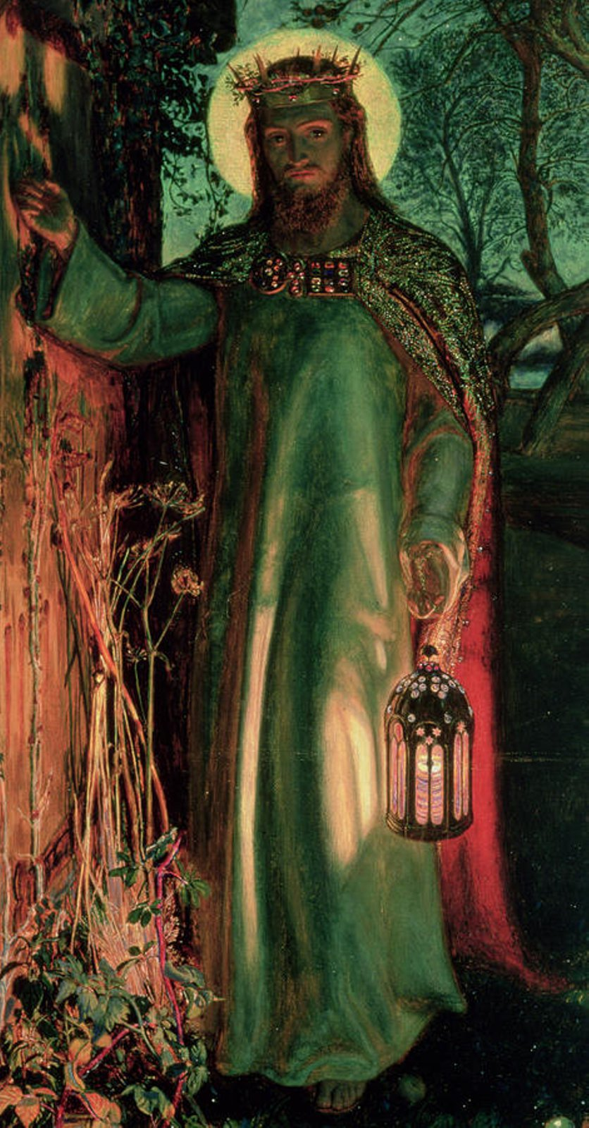 The Light Of The World William Holman Hunt Emilssonw Blog Is